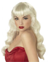 40's/50's/60's BLONDE PIN-UP WIG - BRAND NEW!