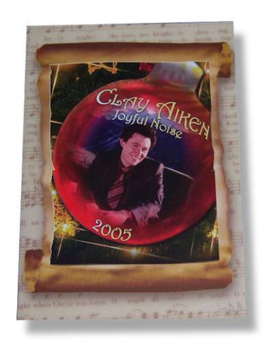 CLAY AIKEN TOUR BOOK 2005 JOYFUL NOISE