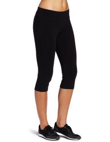 Women's Spalding Capri Legging Active Athletic Pants Sports