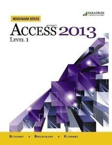 Microsoft Access 2013 Level 1- TEXTBOOK