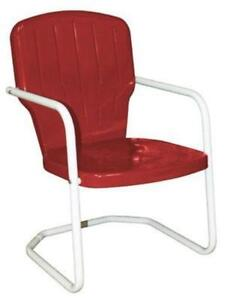 outdoor metal chair. Retro Metal Lawn Chair Outdoor