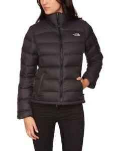 Women's Northface Nuptse Jacket Black Sz Small