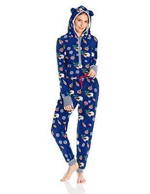 Planet Sleep Women's Ugly Christmas Sweater One Piece Pajamas - Festive Sheep, - Ugly Sweater Pajamas