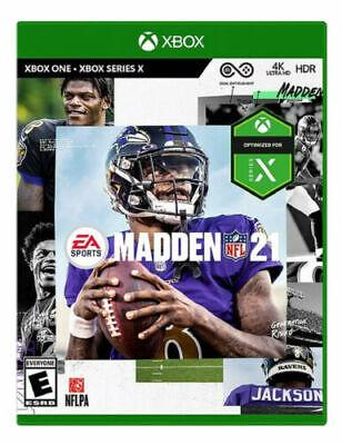 Madden NFL 21 - SEALED (Microsoft Xbox One, 2020) 2021 NEW!