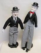 Laurel and Hardy Dolls