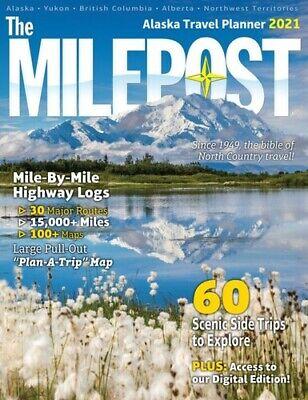 The Milepost 2021: Alaska Travel Planner   Paperback