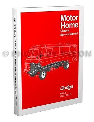 1968-1969-1970 Dodge Motor Home Shop
