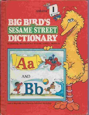 B004HX5ECU Big Birds Sesame Street Dictionary Letters A-B