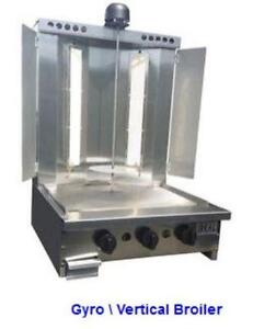 Shwarma - Gyro -Donair machine - MADE IN THE USA - with cooking grill front - FREE SHIPPING