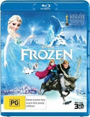 Disney Frozen 3D Bluray Region Free ABC New