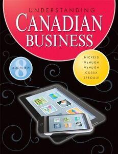 Understanding Canadian Business - Hardcover - University