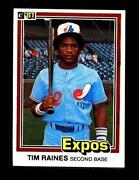 1981 Donruss Tim Raines