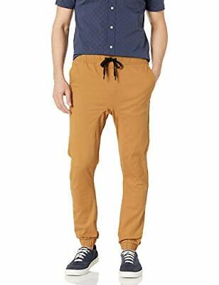 Southpole Men's Big and Tall Basic Stretch Twill Jogger, Tob