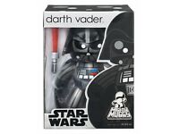 Star Wars Mighty Muggs 6 Inch Darth Vader Action Figure - Collectable Toy