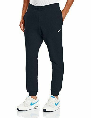 New With Tags Men's Nike Gym Muscle Slim Club Fleece Jogger Pants Sweatpants Navy Blue
