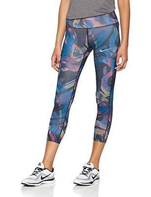 212db6a463d9f1 Womens Nike Power Dri-Fit Running Capri Tight Leggings 928705 011 NWT Size  SMALL