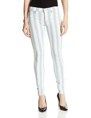 Indigo Striped Jeans - Hudson Jeans Women's Krista Indigo Jacquard Stripe Jean, Liberated  MSRP $189
