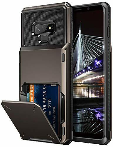 Vofolen Case for Galaxy Note 9 Wallet 4-Slot Pocket Credit G