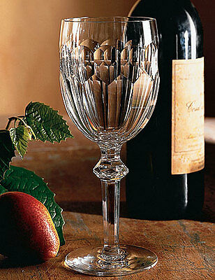 Waterford Crystal CURRAGHMORE Claret Wine Goblet (S) Glass - NICE!