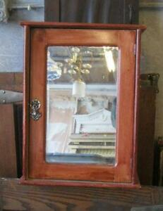 Recessed bathroom medicine cabinets with mirrors