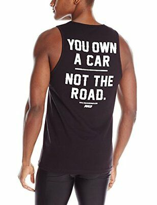 """The Awarewolfs """"You Own A Car Not The Road"""" Tank Top, Small for sale  Shipping to India"""