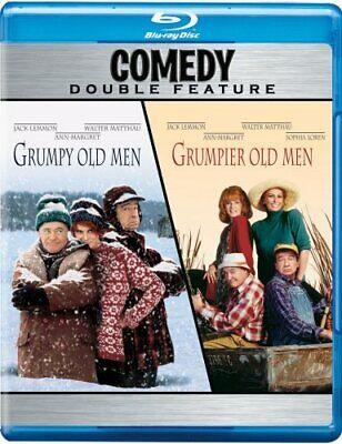 GRUMPY OLD MEN + GRUMPIER OLD MEN New Sealed Blu-ray Double Feature