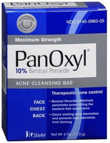 Panoxyl Maximum Strength Acne Cleansing Bar Beauty