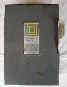 Square D  heavy duty switch 60 amp.