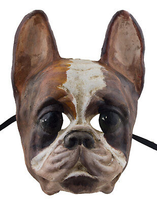 Mask from Venice Dog Race Bulldog Paper Mache Collection Luxury 2301 X23