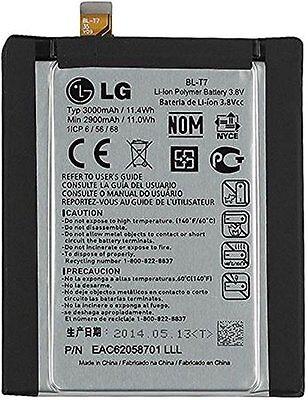 LG BL-T7 Original Internal Battery for LG G2 D800 D801 D802 LS980 VS980