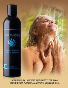 TAN PHYSICS Perfect Balance Pre-Tan Exfoliant Sunless Tanning Exfoliator Lotion