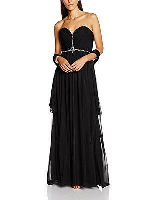 Mascara Damen Kleid Grecian Straight Cut Down ,38