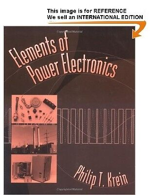 Elements of Power Electronics by Phillip T. Krein - Int' Edition PaperBack](elements of power electronics krein)