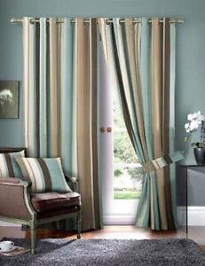 extra long eyelet curtains