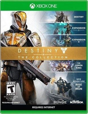 Destiny: The Collection (Microsoft Xbox One, 2016)-Spanish.