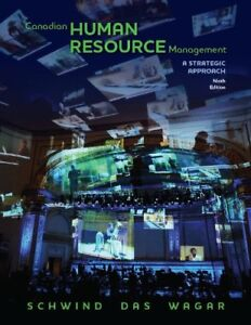 Canadian Human Resource Management – 9th edition
