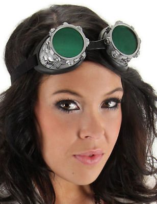 Steampunk Goggles Victorian Goth Style Halloween Costume Fancy Dress  - Victorian Style Dresses Halloween