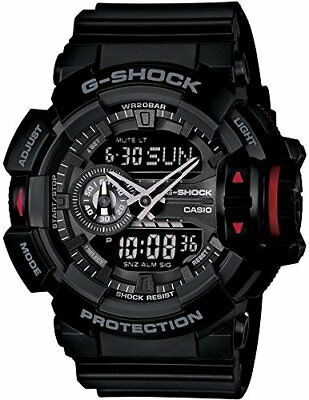 New Casio G-SHOCK GA-400-1BJF Men Wristwatch Black Protection Japan for sale  Shipping to United States