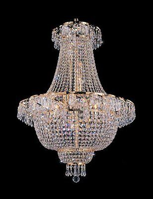 """French Empire Crystal Chandelier Chandeliers Lighting H 30"""" W24"""""""