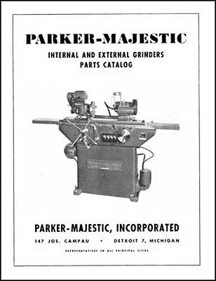 Parker-majestic Internal External Grinder Manual