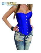 Blue Steel Boned Corset