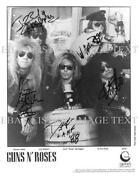 Guns N Roses Signed