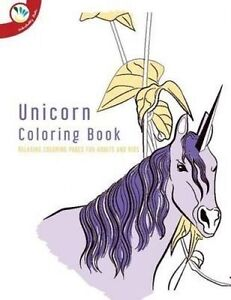 Image Is Loading Unicorn Coloring Book Relaxing Pages For Adults