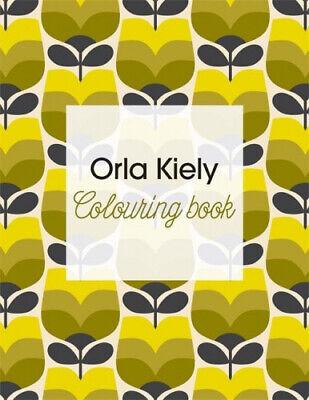 Orla Kiely Colouring Book by Kiely, Orla.