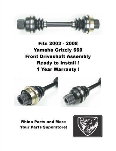 yamaha grizzly 660 front drive shaft