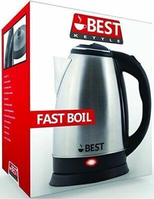 Best Electric Tea Kettle (RAPID BOIL TECHNOLOGY) Cordless - HUGE 2.0L