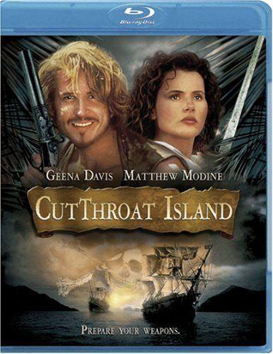 CUTTHROAT ISLAND (Geena Davis, Matthew Modine) - Blu Ray - Sealed Region free