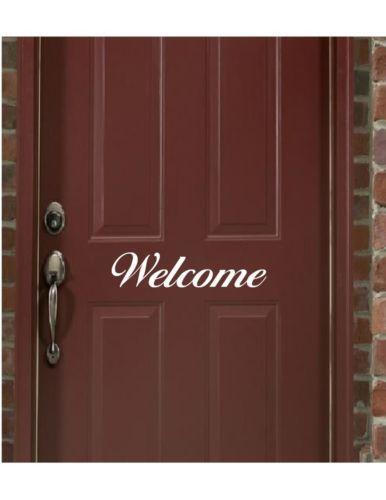 Front Door Decals Ebay