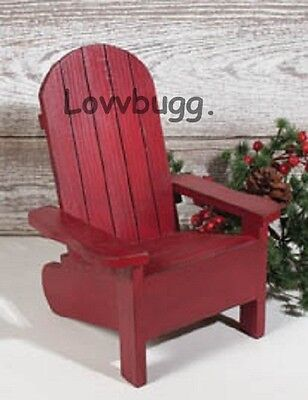 """Adirondack Chair Furniture for 18"""" American Girl Doll Widest Selection!"""
