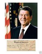 Ronald Reagan Signature